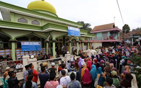 Pembagian Paket Sembako Ramadhan Tahun 1438 H