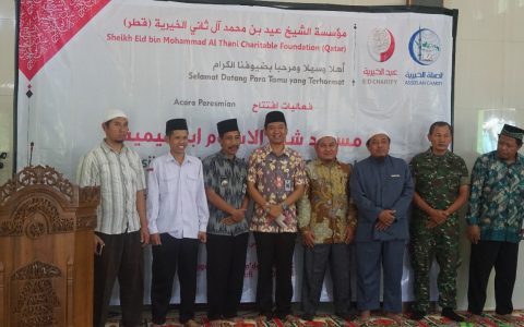 Direktur Yayasan Ash Shilah Meresmikan Masjid Syeikhul Islam Ibnu Taimiyah