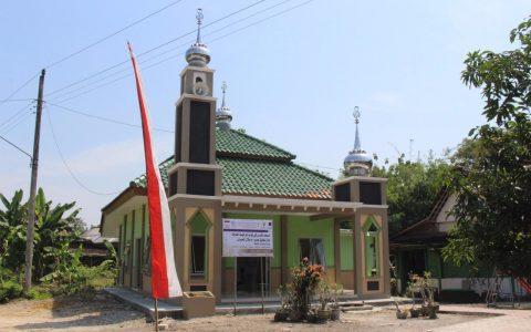 Peresmian Masjid Al Quds oleh Direktur Yayasan Ash Shilah